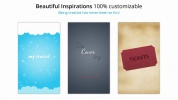 GoodBarber's Beautiful Inspirations : MyTravel, Cover & Tickets