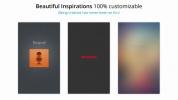 GoodBarber's Beautiful Inspirations : Sound, Dashboard & BlurredV2